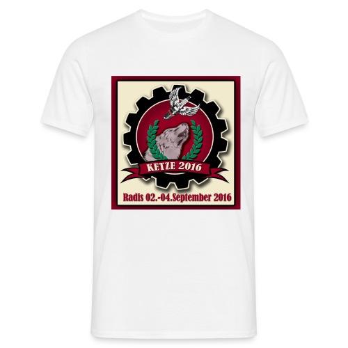 T Shirt Black beschnitten - Männer T-Shirt