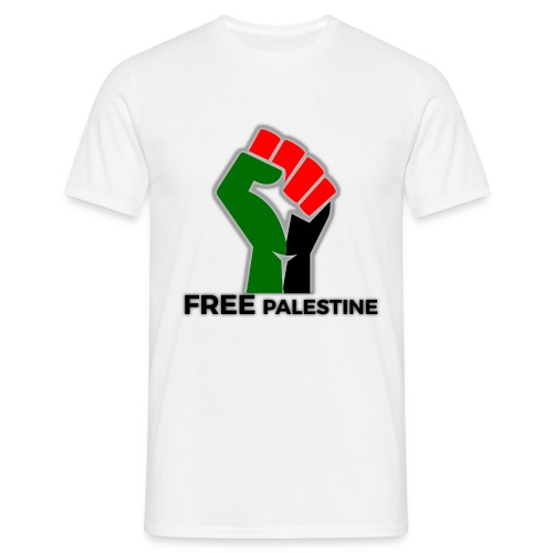 FreePalestine Black - Men's T-Shirt