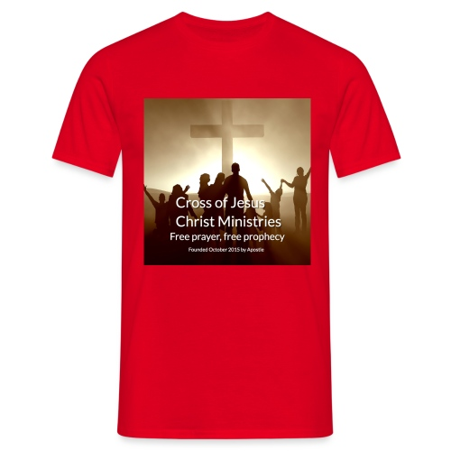Cross of Jesus Christ - Men's T-Shirt