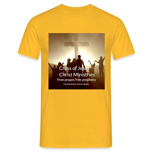 Cross of Jesus Christ - Men's T-Shirt