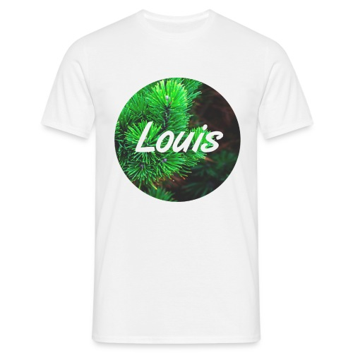 Louis round-logo - Männer T-Shirt