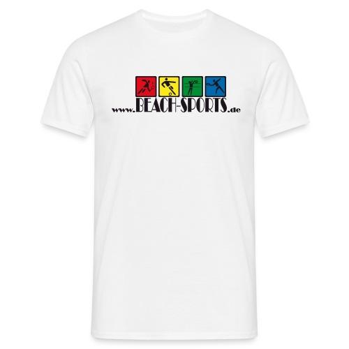 BEACH-SPORTS _piktogramme - Männer T-Shirt