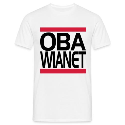 4704080 15310827 oba wia net orig - Männer T-Shirt
