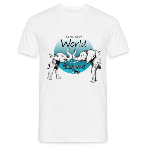 World Elephant Day 2017 - Männer T-Shirt