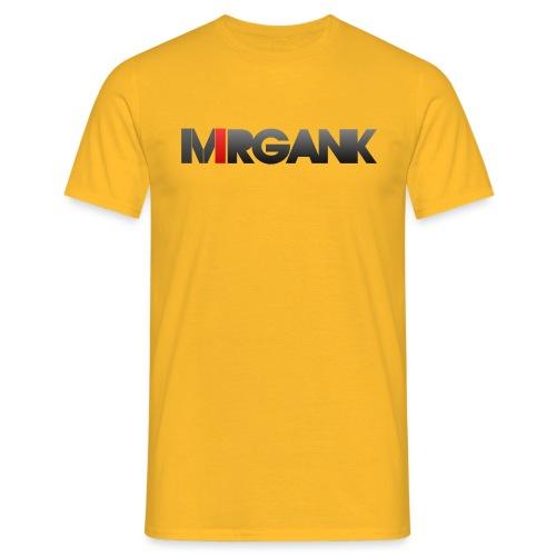 Mrgank Text - Men's T-Shirt