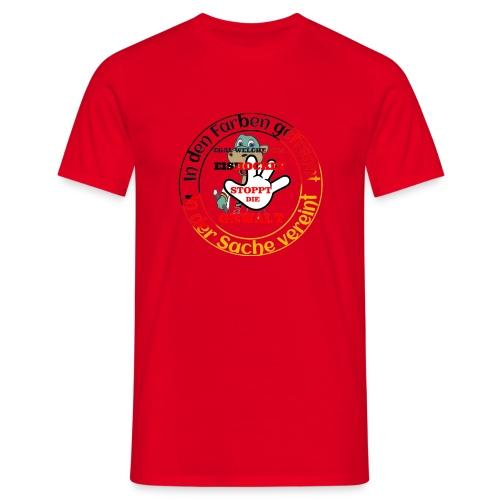 Gegengewalt - Männer T-Shirt