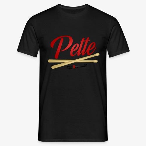 Pette the Drummer - Men's T-Shirt