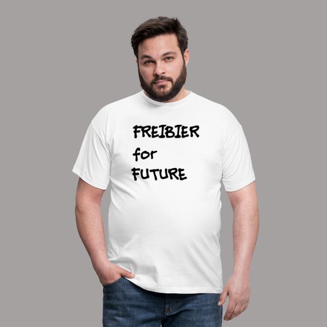Fun T-shirt schwarze Schrift - Geschenk
