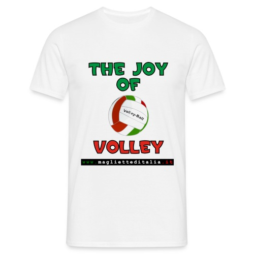 joy volley - Maglietta da uomo