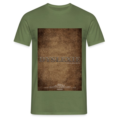 affiche Dyslexie - T-shirt Homme