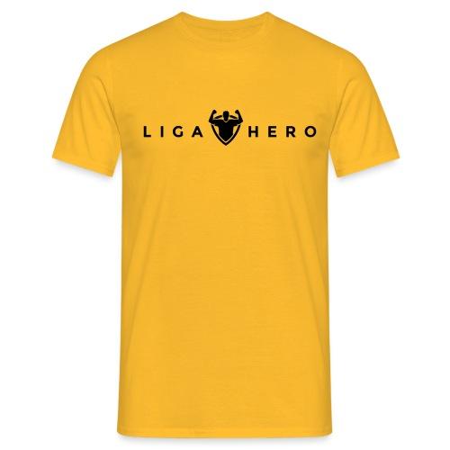 tshirt logo black png - Männer T-Shirt