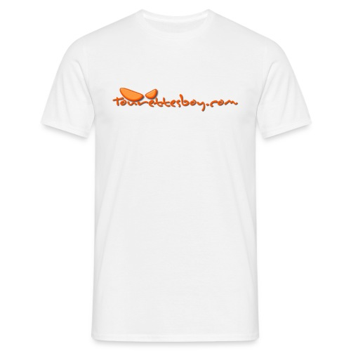 tourettesboy logo simple - Men's T-Shirt