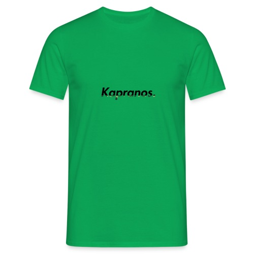 Kapranos Brand (Black / Camo) - Men's T-Shirt