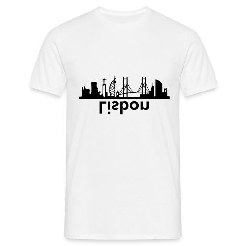 Lisbon Skyline - Männer T-Shirt