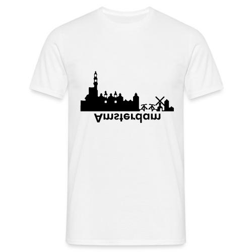 Amsterdam Skyline - Männer T-Shirt