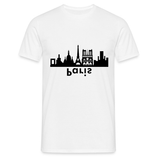 Paris Skyline - Männer T-Shirt