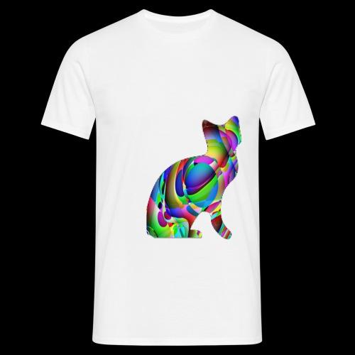 chat joueur - T-shirt Homme