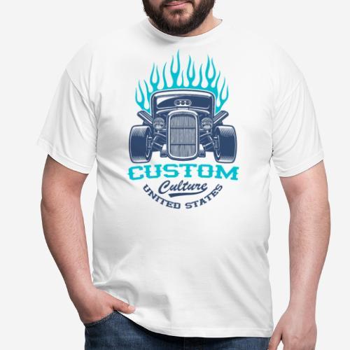 Custom Car USA - Männer T-Shirt
