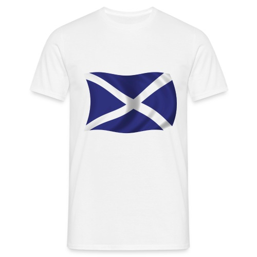 scotlandflag - Men's T-Shirt