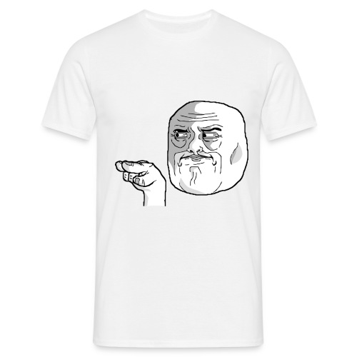 Emoticon meme I Watching You png - Mannen T-shirt