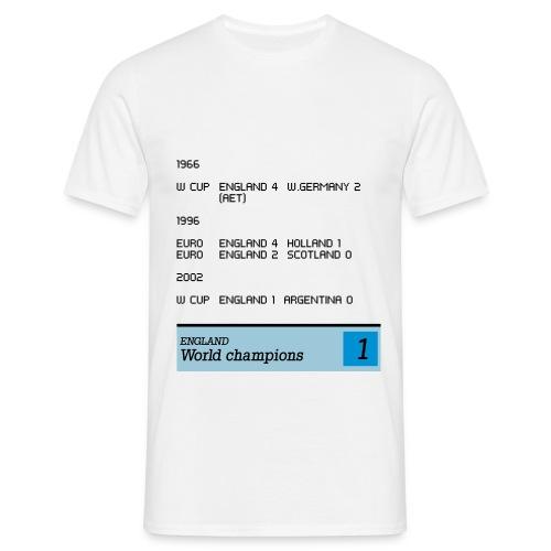 TV Printer England - Men's T-Shirt