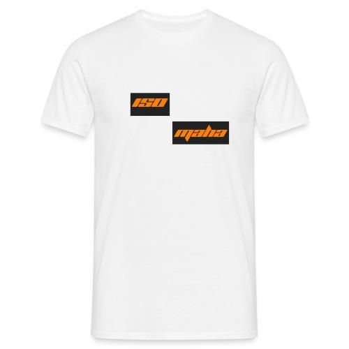 isomaha split logo - Miesten t-paita