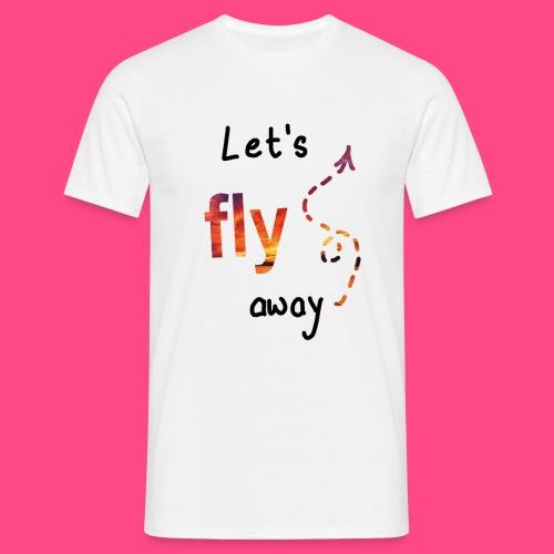 Flying - Männer T-Shirt