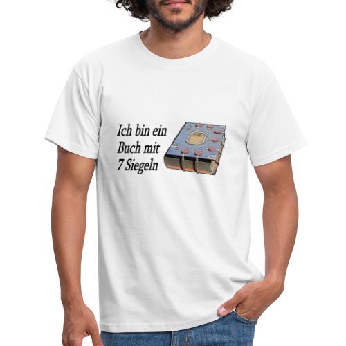 Buch mit 7 Siegeln 1 - Männer T-Shirt