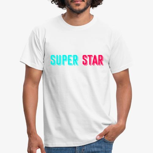 Super Star - Mannen T-shirt