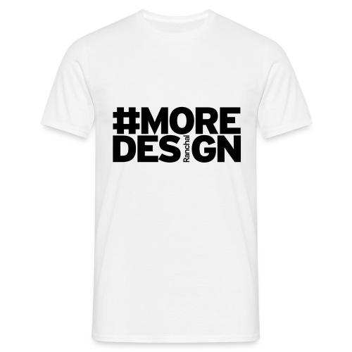 #MOREDESIGN - Camiseta hombre
