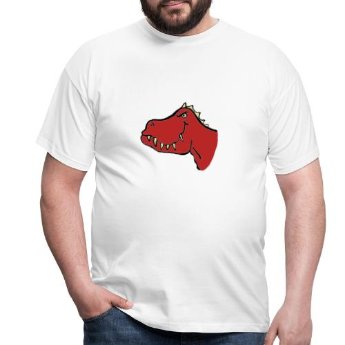 T Rex, Red Dragon - Men's T-Shirt