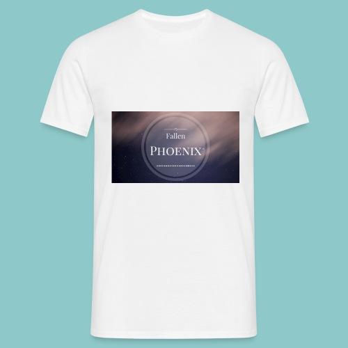 Fallen png - Männer T-Shirt