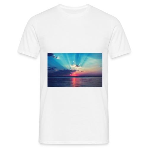 Primus- Sunrise T-shirt Weiß - Männer T-Shirt
