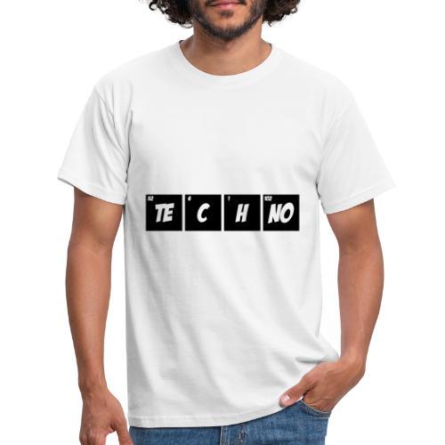 Techno Periodensystem - Männer T-Shirt