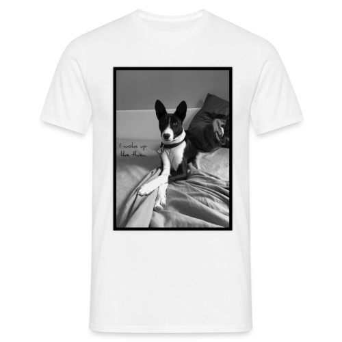 Piratethebasenji - T-shirt Homme