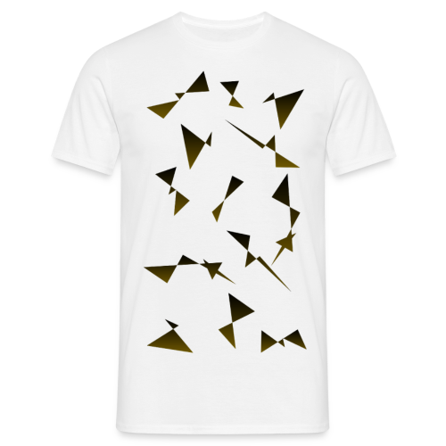 T4Y Triangle Gold - Männer T-Shirt