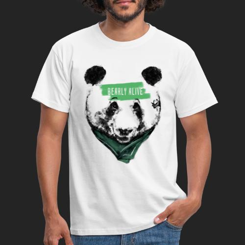 Panda bearly alive - T-shirt Homme
