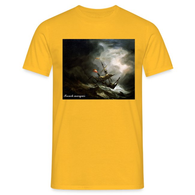 """T-shirt French marquis """"Storm"""""""