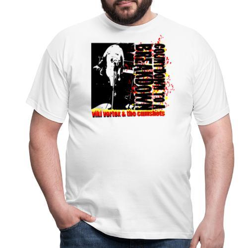 countdowntoabreakdowntshirt - Men's T-Shirt