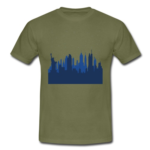 Manhattan Skyline - T-shirt Homme