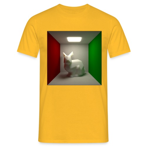 Bunny in a Box - Men's T-Shirt