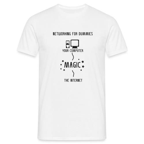 Networking for dummies - Mannen T-shirt