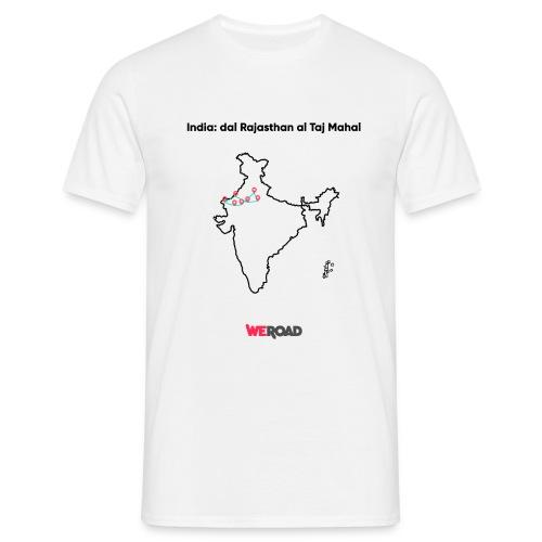India: dal Rajasthan al Taj Mahal - Maglietta da uomo