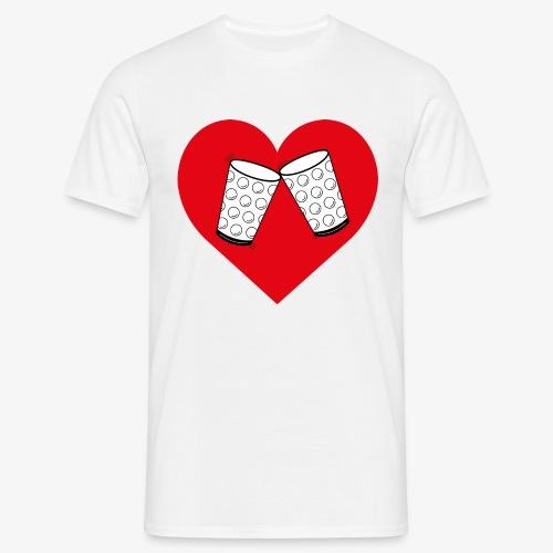 Schorle Liebe – Dubbegläser - Männer T-Shirt