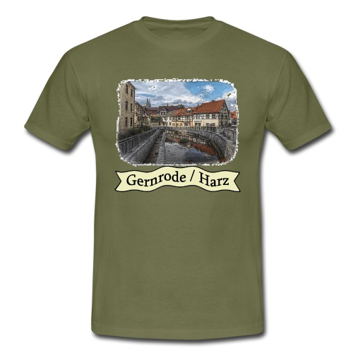 gernrode harz spittelteich 1 - Männer T-Shirt