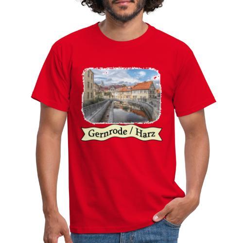 gernrode harz spittelteich 3 - Männer T-Shirt