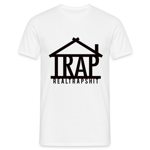 realtrapshit traphouse png - Men's T-Shirt