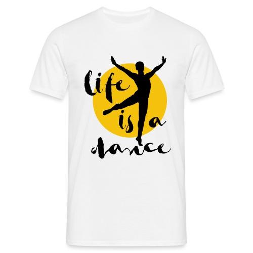 Ballett Tänzer - Männer T-Shirt
