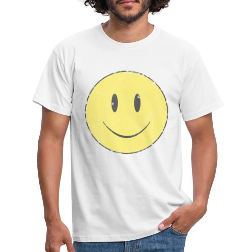 happy face - Camiseta hombre