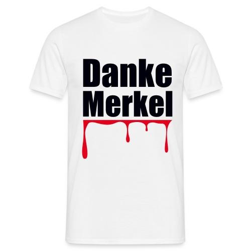 Danke Merkel - Männer T-Shirt